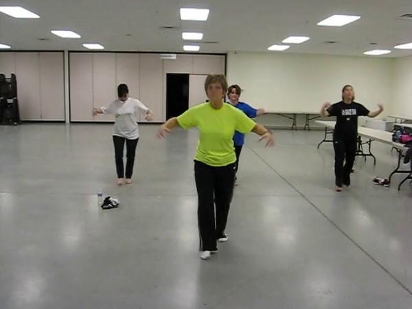 African Dancers - Practice 3-8-2012