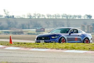 #16 Blue Mustang GT