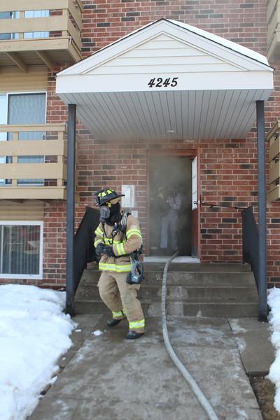 Gurnee Fire Rescue Apartment Fire 4245 Greenleaf Court