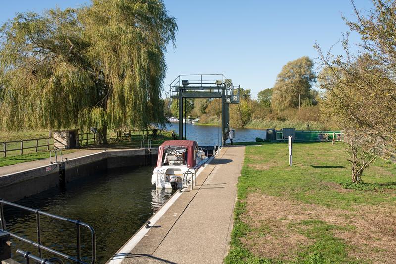 Houghton Lock, Cambridgeshire