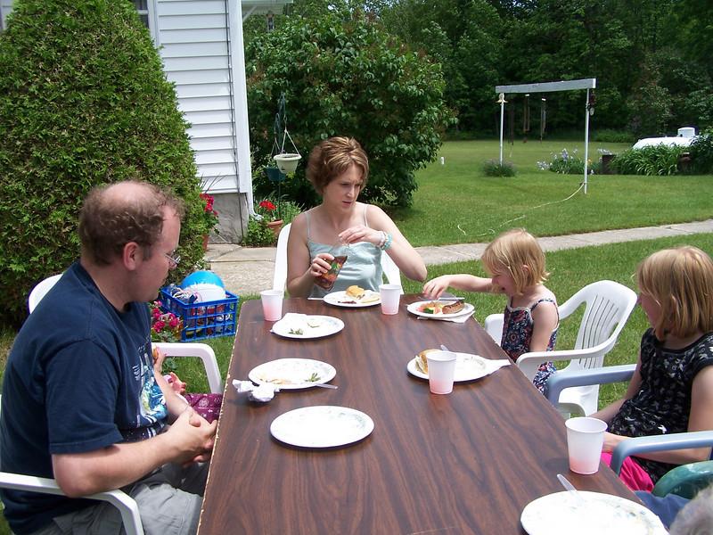 Todd, Sarah, Ella and Hannah