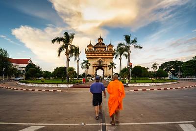 Vientiane, Laos - Nov 2016