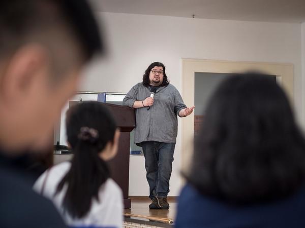 Jonathan Castillo Speaks at UIC
