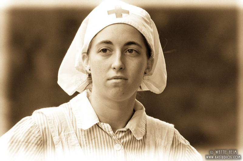 Portrait of A Nurse    Photography by Wayne Heim