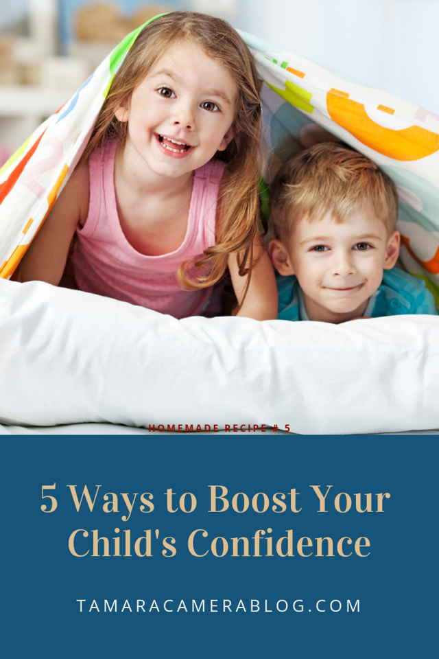 AD One of my favorite parts of parenting, other than love, is this chance to help shape your child's life. Here are 5 ways to boost your child's confidence!