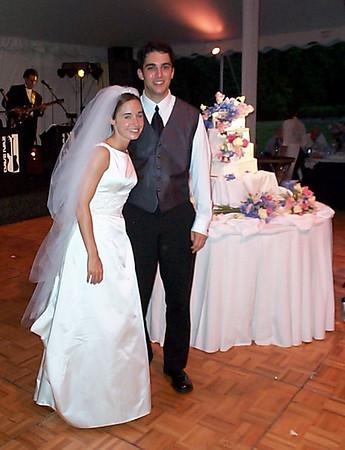 Laura & Dan's Wedding - July 7, 2001