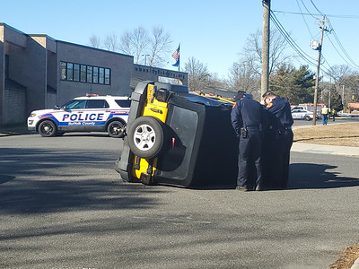 2020.03.01 Mastic MVA with Overturn The Green and Roberts Rd