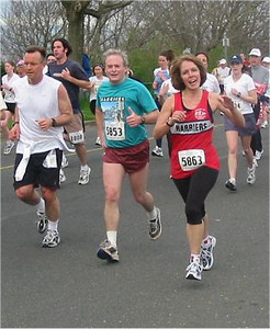 2003 Times-Colonist 10K - A friendly greeting from Bruce Cheadle and Caroline Waelti