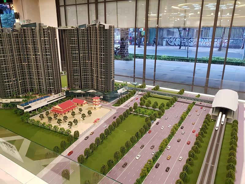 Metro Star model and Binh Thai Station