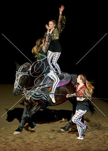 Rocky Mountain Horse Expo- The Mane Event- Vaulting