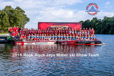 Waterski - Rock Aqua Jays - Team Photos