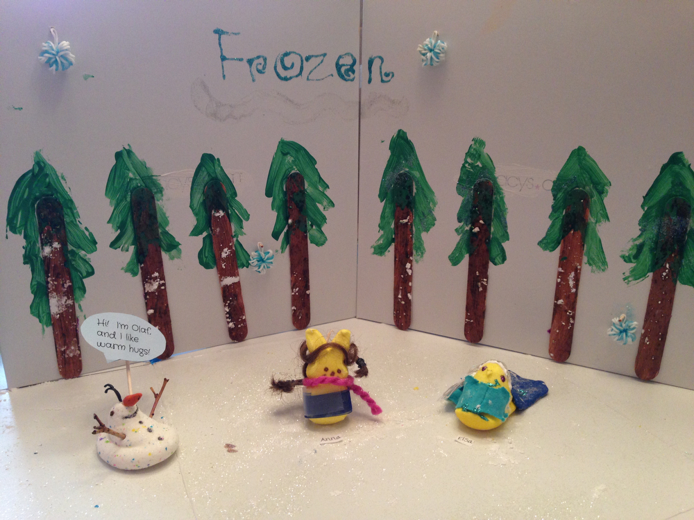 . Title: Frozen Peeps (Megan Finnigan, age 11)
