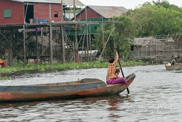 Tonle Sap and Tahas River
