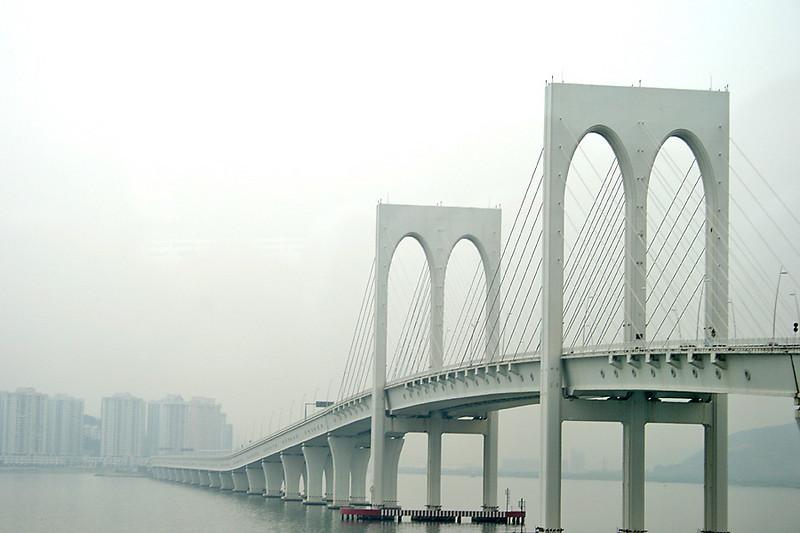 The bridges of Macau - Sai Van Bridge