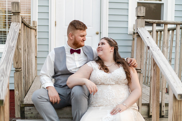 Shannon & Bryon | Intimate, Vintage-Inspired Wedding in Concord, NC