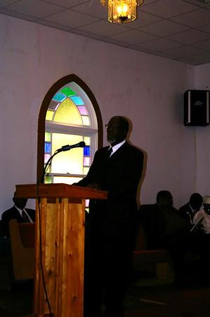 Rev. Bells 1st Anniversary at Jordan Hill Missionary Baptist Church
