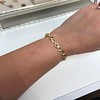 Vintage French Ruby & Diamond Serpent Bracelet 22