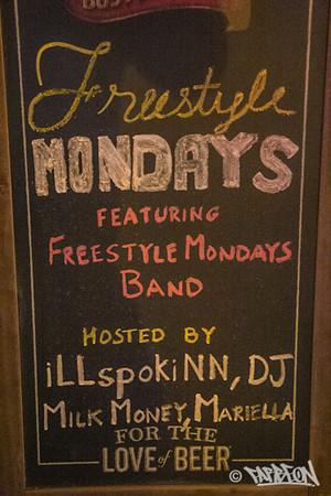 Freestyle Mondays - 2.3.14 - w/ Homeboy Sandman