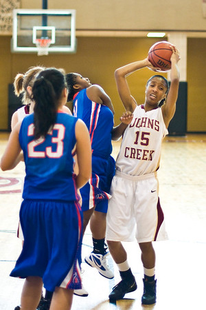 2011-12 Johns Creek Girls-NW Whitfield, 1-14-12