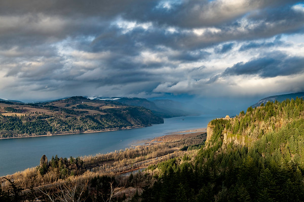 2019 03-12 Stormy Skies Over Crown Point