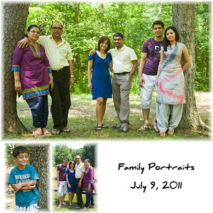 P. Jain and Family - July 9, 2011