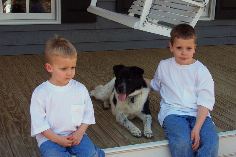 Wyatt, Bessie, Caleb      6/04