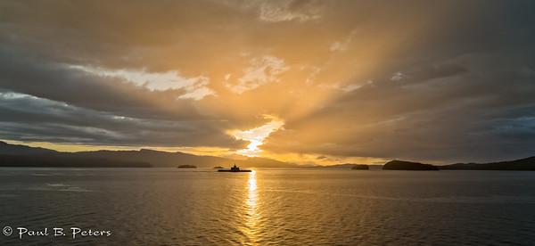 Swartz Bay sunset - May 2, 2014