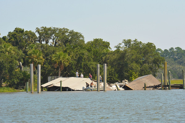 Gisco Dock & Building Collapse 08-24-12