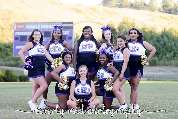 2019 Chatt Central Cheerleaders