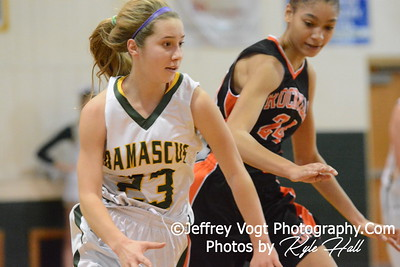 03-07-2015 Damascus HS vs Rockville HS Varsity Girls Basketball Playoffs, Photos by Jeffrey Vogt Photography with Kyle Hall