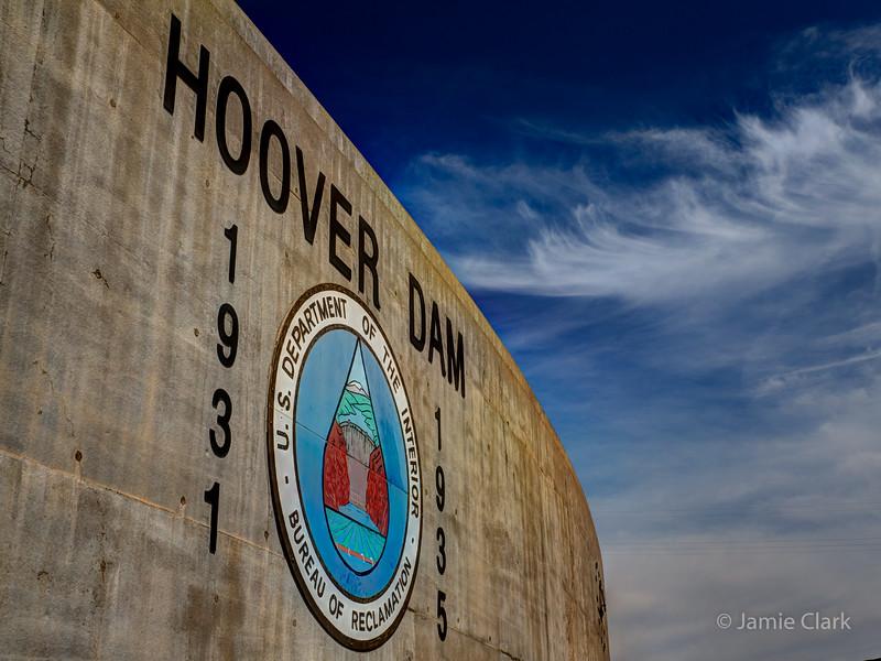 Hoover Dam, Boulder City, Nevada