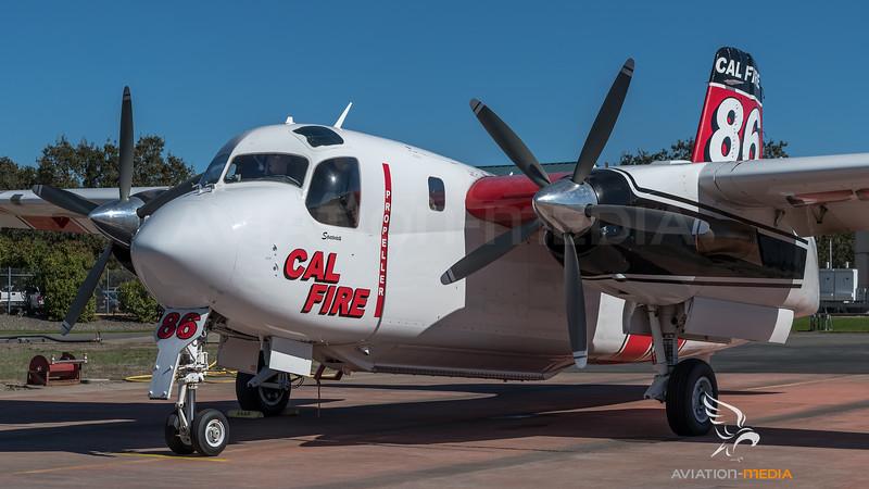 CAL Fire / Marsh Aviation S-2F3AT Turbo Tracker / N433DF