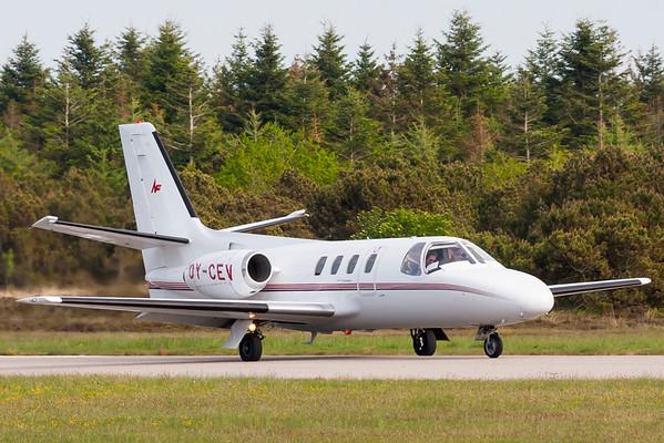 OY-CEV - Cessna 500 Citation