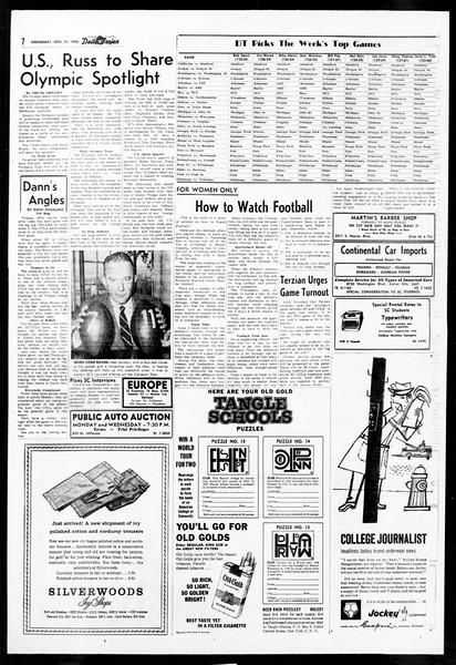 Daily Trojan, Vol. 48, No. 44, November 21, 1956