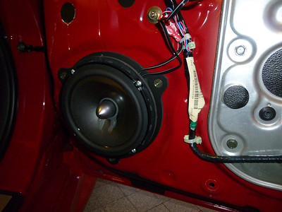 2005 Nissan 350Z Front Door Speaker Installation