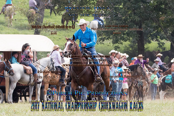 2017 Saturday Snowy River/Broncs/ Mule Race  National Championship Chuckwagon Races