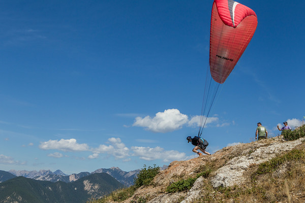 Gliding - Lakeside Event - August 2014, Invermere