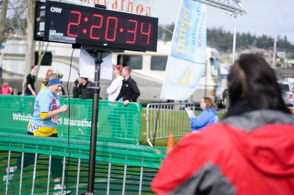 Whidbey Island Half Marathon 2012