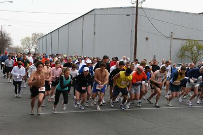 Run vs  Row 10K 2006