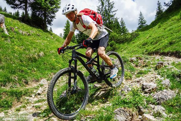 Schrofenpass mountainbiking 2017-06-20