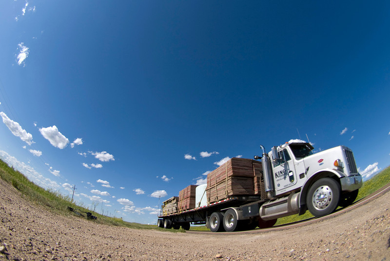 One of the subjects I can't get enough of in the States. The trucks have so much character. To me they look human and, just like the face, offer so much expression. They look great adorning a foreground to a storm but are equally great subjects in a brightly lit clear sky. I accentuated the subject by shooting with a fisheye and composed via 'Live View' with the camera sitting on the ground.  Olympus E3, 8mm fisheye - F5.6, 1/800s