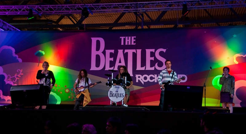 The Beatles: Rock Band at GamesCom