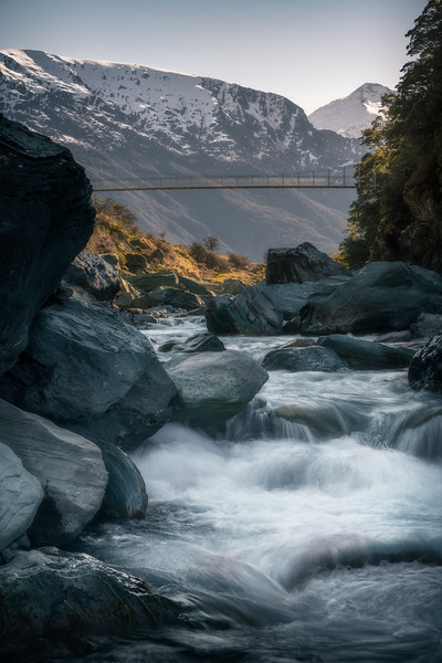 Swing & Stream || Mt. Aspiring National Park