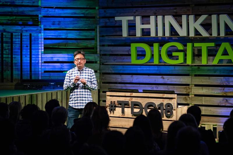 Herb Kim at Thinking Digital Conference 2018
