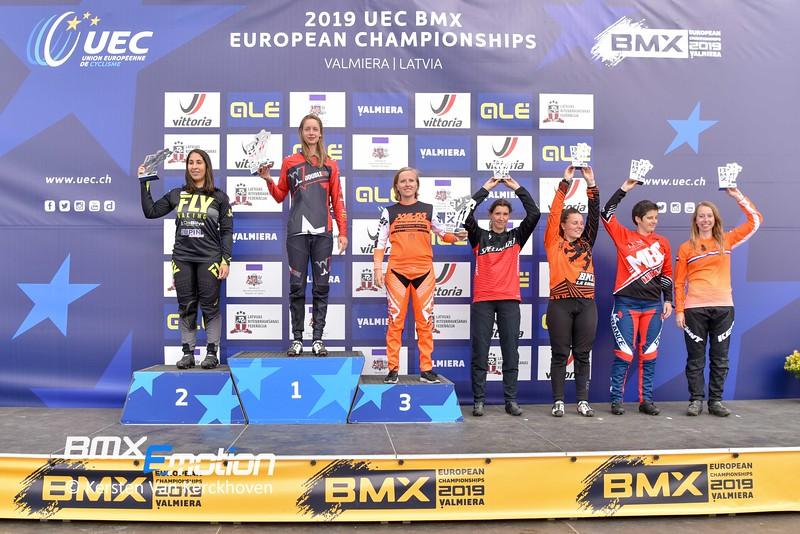 European Championships Valmiera - CHALLENGE 13+  Podium