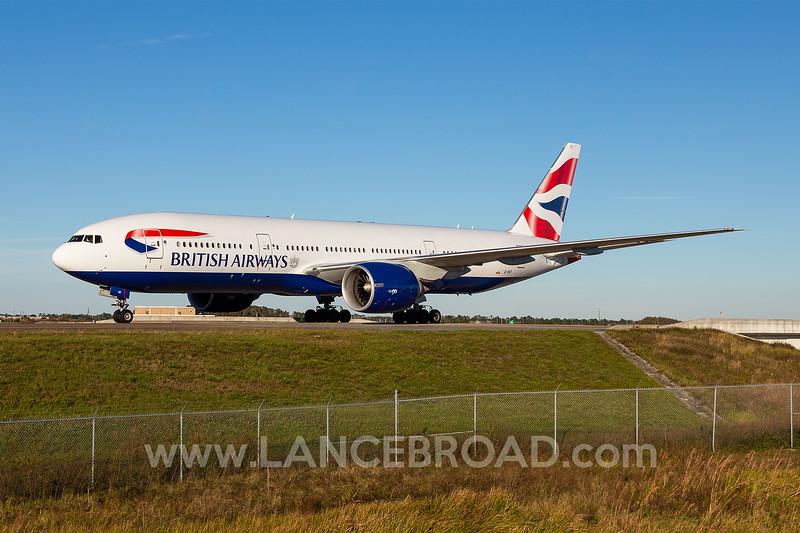 British Airways 777-200ER - G-VIIT - MCO