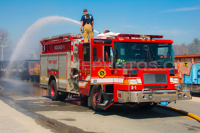Andover, MA All Hands Brush Fire - IAO Lowell Junction Rd @ the railroad crossing - 4/21/14