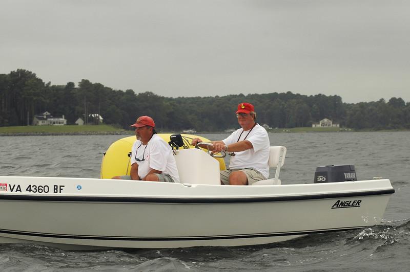 Mark boat. David Hinckle