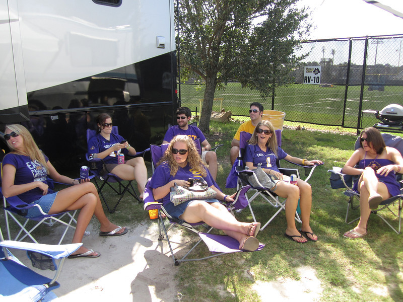 9/10/2011 ECU vs Virginia Tech  Staci, Missy, Wayne, Lauren, Preston, Jenn, Emily