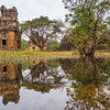 Pond Reflections, Prasat Suor Prat, Angkor, Cambodia